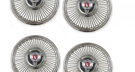 Wire Wheel Covers With Spinners!