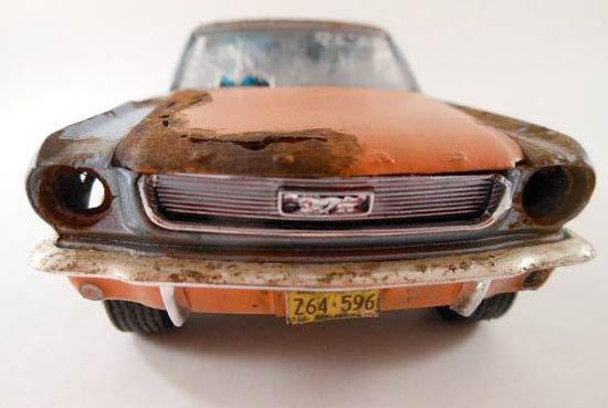 Ford-Mustang-model-kit